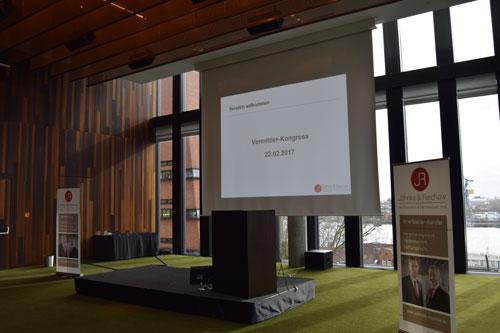 Bühne Jöhnke & Reichow Vermittler-Kongress 2017